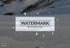ساخت واترمارک و قرار دادن روی تصاویر در فتوشاپ
